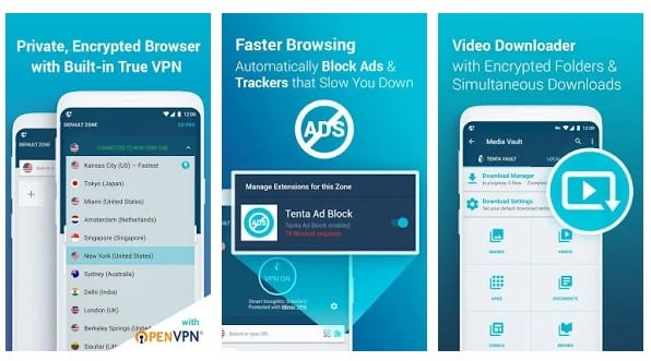 Top 5 Best in-built VPN apps for Android - The BRO Tech